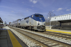 Amtrak GE P42DC #6 (ExactoCreation) Tags: railroad train amtrak locomotive ge superliner