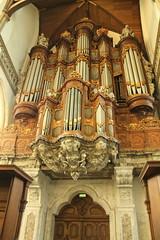 Oude Kerk pipe organ (firepile) Tags: amsterdam oldchurch oudekerk