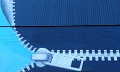 Zip it UP (plismo) Tags: blue ontario canada wall zipper peterborough zipitup