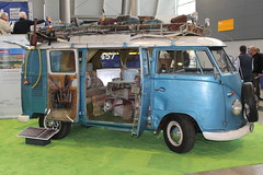 VW T1 Hippie Camper (1956) (Mc Steff) Tags: flower bus vw t 1 power hippie 1956 camper flowerpower t1 wohnmobil bulli vokswagen retroclassicsmessestuttgart2015