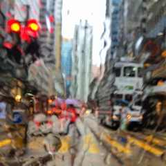 electric avenue (MdKiStLeR) Tags: street urban abstract motion blur color wet rain mobile hongkong movement asia cityscape candid tram electricavenue iphone 2016 iphoneography mdkistler mobileonly copyrightmichaelkistler