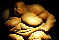 La vejez de Apolo (Franco DAlbao) Tags: sculpture beauty fuji fat bald grease escultura anatomy calvo obesity gordo belleza volume apolo grasa obesidad volumen anatoma dalbao francodalbao