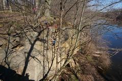 Now I know why it's called Grand Ledge (rkramer62) Tags: shadows grandriver limestonecliffs grandledgemichigan rkramer62