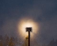Floodlight in the snow (Wa So) Tags: neige nuit lightroom k3 chamrousse projecteur pentaxda55f14