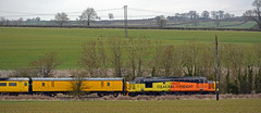 3Z11 old dalby to derby rtc via melton seen at saxelbye 37219 tailing 37421 on the front (Iain Wright Photography) Tags: old front via seen derby rtc melton dalby tailing 37219 37421 saxelbye 3z11
