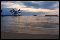 P3170171 (mahmudzuhdi) Tags: sunset beach olympus kotakinabalu sabah tanjungaru shangrilahotel mzuiko