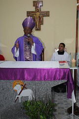 Dom Frei Joo Muniz Alves, OFM, Bispo da Prelazia do Xingu-PA na capela da Vila Frei Solano em Bacabal-MA. 108 (vandevoern) Tags: brasil maranho simpatia misso bacabal vandevoern contgio sofranciscosolano