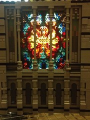 rose window - muntabur cathedral (lord_tarris) Tags: church architecture lego cathedral dom gothic stainedglass flamboyant rosette tracery fensterrose lordtarris