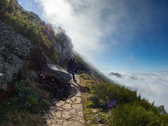 Madeira Pico Ruivo out of the fog (michaelbeyer_hh) Tags: fog madeira penf picoruivo