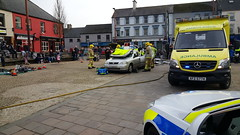 RTC Demo Ballynahinch (K_Doug) Tags: ireland rescue fire ambulance service northern nias ballynahinch psni e623 nifrs xfz5774 s4501