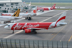 AirAsia 9M-AHW (Howard_Pulling) Tags: camera photo airport nikon aviation picture malaysia kualalumpur airlines kl klia howardpulling d5100