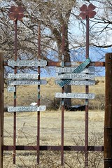 4-H Relic (Patricia Henschen) Tags: road ranch sign rural rust colorado country rusty coloradosprings roadside 4h backroad highplains elpasocounty hanoverroad peytonhighway