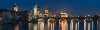 Prague - Charles Bridge Panorama