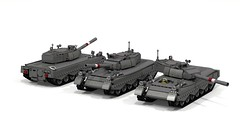 Jaguar MBT (John Moffatt) Tags: cold digital war tank lego designer main battle leopard medium jaguar mbt ldd dc6