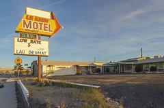 Le Brun motel, Needles (philippe*) Tags: california needles motelsigns