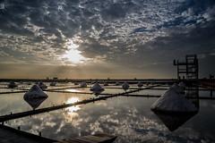DSC07847 (A.Co) Tags: sunset field zeiss landscape sony salt taiwan  fields rays tainan    a7   beimen      jingzaijiao ilce7 sel2470z variotessartfe41635 tilepaved