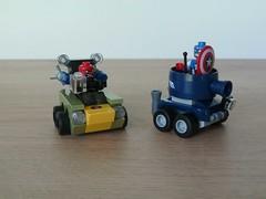 LEGO MARVEL SUPER HEROES 76065 Mighty Micros Captain America vs Red Skull (Totobricks) Tags: car lego instructions minifigs superheroes marvel captainamerica 2016 redskull minifigures captainamericavsredskull totobricks mightymicros lego76065