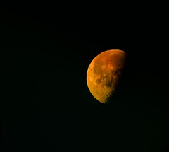 I love you to the moon and back... (bankst) Tags: moon nikon space depthoffield sunreflection d5100 simplesuper