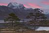 Slioch Gloaming (Shuggie!!) Tags: trees snow mountains water pine landscape scotland highlands rocks williams heather hills karl grasses gloaming torridon westerross zenfolio karlwilliams