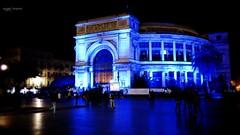Giornata Mondiale della consapevolezza dell'Autismo (Angelo Trapani) Tags: blu palermo monumenti autismo politeama luceblu