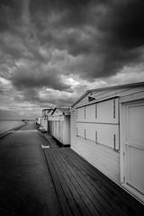 Les cabanes de Veulettes (amateur72) Tags: mer beach seaside cliffs fujifilm plage beachhuts falaises veulettes xt1