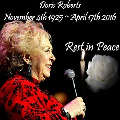 RIP Doris Roberts, Her Humor and Talent will be greatly missed. Condolences Thoughts and Prayers to her family, friends & fans #RemingtonSteel #FullHouse #EverybodyLovesRaymond #ELR #RIPDorisRoberts (standingbears) Tags: fullhouse elr everybodylovesraymond remingtonsteel ripdorisroberts