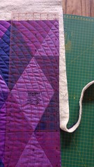 Final trim (Snuva) Tags: colour triangles quilt solids quilting kona equilateral qulting qult