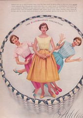 Adelaar 1956 (moogirl2) Tags: vintage retro vogue 50s 1956 adelaar vintageads 50sfashion
