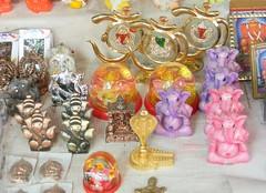 Small ganesh statues at Mahad market (Sachin Baikar) Tags: maharashtra ganpati ashtavinayak mahad varadvinayak