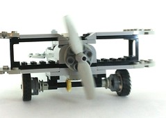 Funtioning Propeller Plane (TheRoyalBrick) Tags: plane lego function moc foitsop
