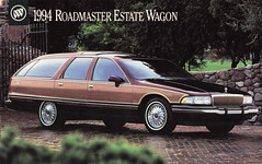 1994 Buick Roadmaster Estate  Wagon (aldenjewell) Tags: station wagon buick estate postcard 1994 roadmaster woodie