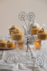 saffron spice cupcakes (asri.) Tags: foodphotography 2016 85mmf14 foodstyling bakinghomemade