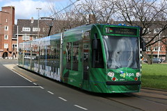 Lijn 17 -> Osdorp Dijkgraafplein (AMSfreak17) Tags: world light holland public netherlands dutch amsterdam canon advertising de traffic reclame transport nederland siemens tram rail railway transportation danny service kpn 13g trams strassenbahn gvb ov surinameplein the amsterdamse combino vervoer openbaar 70d 14g 2091 gemeentelijk of spotify vervoerbedrijf soet stadsvervoer amsfreak17 commercialtram