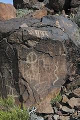 Petroglyphs / Blackrock Well Site (Ron Wolf) Tags: california abstract archaeology circle nationalpark desert nativeamerican rake salinevalley petroglyph anthropology shoshone rockart deathvalleynationalpark piute numic meanderingline bisectedcircle