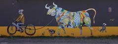 Spaik (BE'N 59) Tags: en streetart blanco sanmigueldeallende mexique muros
