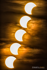 Solar Eclipse (Alongkot.S) Tags: light red sky cloud sun sunlight dark solar eclipse glow moody darkness scenic dramatic full mysterious mystical astronomy glowing astrology mystic scientific
