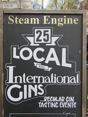 UK - London - Lambeth - Gin options at Steam Engine pub (JulesFoto) Tags: uk england london pub gin lambeth ramblers capitalwalkers
