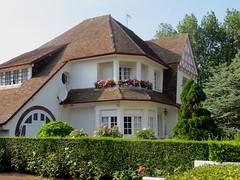 Villa, Le Touquet-Paris-Plage, Picardie, Pas-de-Calais, Hauts de France, France.