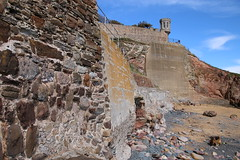 2016 - 26.4.16 Crail (28) (marie137) Tags: road new bridge sea sky beach dogs animals st landscape boats town sand crossing village harbour forth queensferry crail monans geman