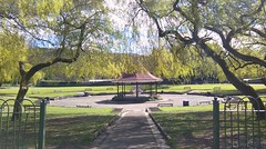 Bandstand (HJA Pics) Tags: park trees outdoor path sunny recreation bandstand pontypridd htc ynysangharadpark htcdesire