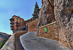 Casa de la Sirena. (frankolayag) Tags: espaa casa arquitectura texturas calles cuenca frankolaya
