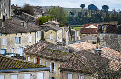 Over the top (kimbar/Thanks for 2.5 million views!) Tags: france rooftops fromabove tiles stemilion