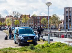 Omroep Zeeland filmt ontmanteling Scheldekraan Vlissingen (Omroep Zeeland) Tags: zeeland vlissingen walcheren filmen opname omroepzeeland filmploeg