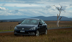 new adventures (keith midson) Tags: tree car vw rural volkswagen landscape australia nile turbo drought tasmania passat tsi 18l tsi18l