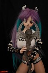 Demoniac Otora (sevader.w) Tags: skull doll demon bjd custom dd leviathan daemon aoi ddy normalskin peachpai