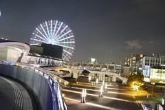 Porto de Nagoya (marcelo.nakazaki) Tags: japan arquitetura night noite japo aichi japon rodagigante sia aoarlivre portodenagoya