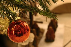 X-mas (MaxDimi) Tags: christmas reflection balls ornament merry nol nativity boules dcoration sapin crche