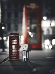 oh, i hope this fits me (ercan.cetin) Tags: red london night booth alone telephone olympus kiosk danbo 25mmf18 danboard mzuiko olympusomd