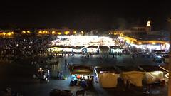 Marrakech - Piazza Jamaa el Fna (Morocco) (Angelo Pistocchi) Tags: morocco marocco marrakech djemaelfna jamaaelfna jemaaelfnaa djemaaelfnaa marrakechtensiftelhaouz jmialfan