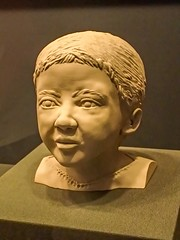 Forensic reconstruction of the Mummy of a Romano-Egyptian child from the Ptolemaic Period 300 BCE - 150 CE (mharrsch) Tags: male youth washingtondc smithsonian child egypt museumofnaturalhistory reconstruction mummified forensic 1stcenturybce 1stcenturyce 2ndcenturyce 3rdcenturybce 2ndcenturybce romanoegyptian ptolemaicperiod mharrsch